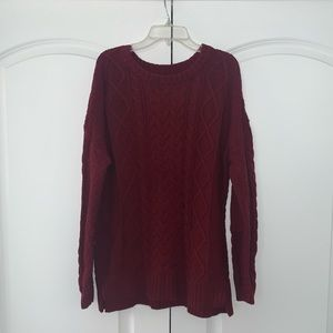 Urban Outfitters Burgundy Sweater